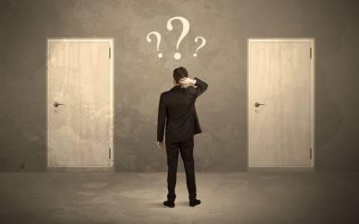 Haben Sie Angst vor Ihrer nächsten Entscheidung?